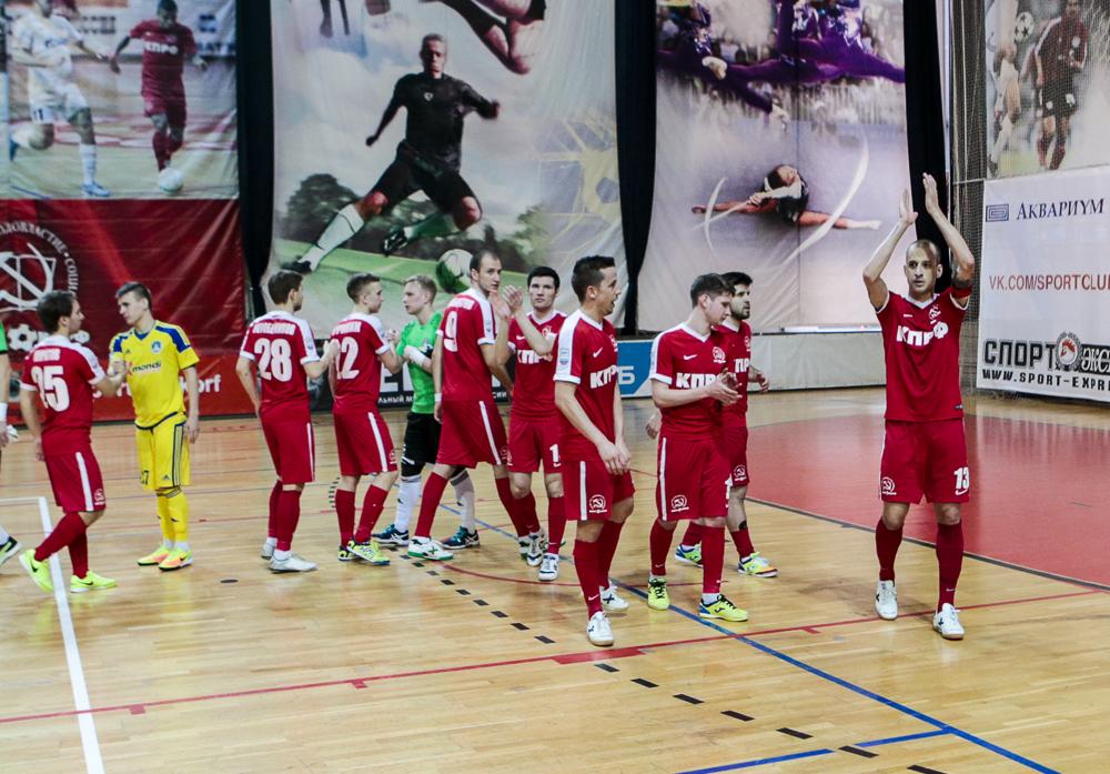Фоторепортаж о первом матче МФК КПРФ – «Новая генерация»