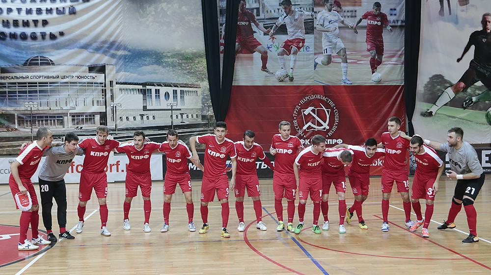 Фотоотчет о матче МФК КПРФ – «Тюмень»
