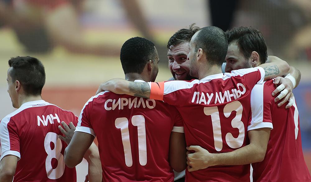 Фотоотчет о матче МФК КПРФ – «Синара»