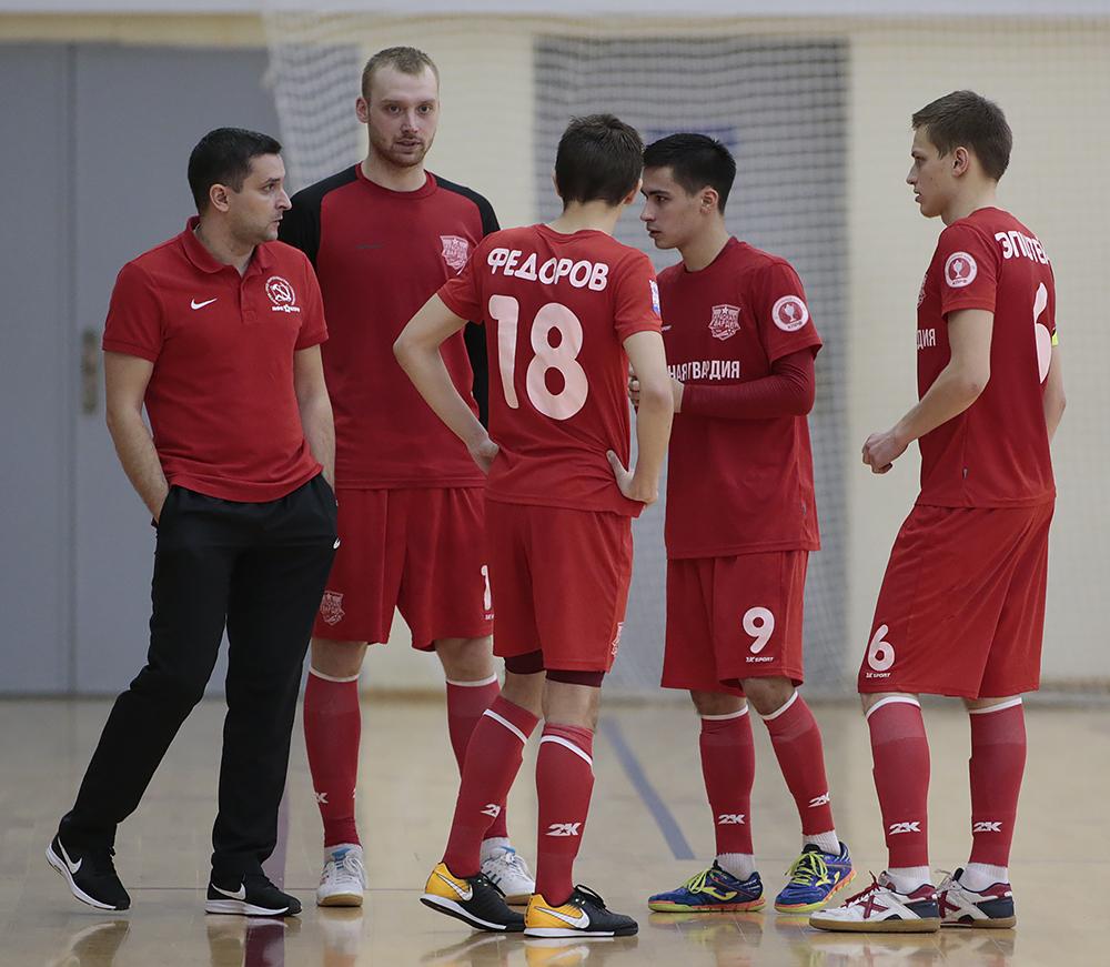 Фотоотчет о матче «Красная гвардия» - «Газпром-Югра-д»
