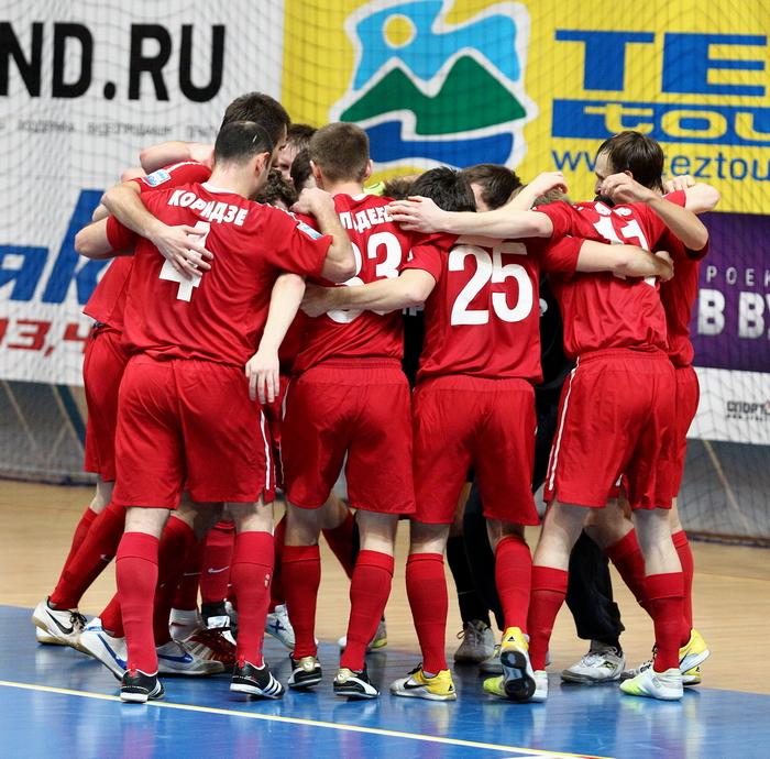 Первая победа МФК КПРФ в Суперлиге!